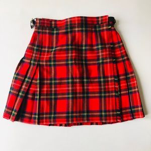 Authentic Tartan Wrap Around Skirts